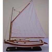 Gaff Rigged Catboat 50cm