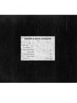Browns - Bridge and Deck Logbook (3 month)