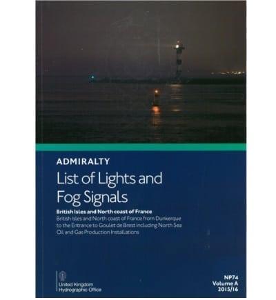 NP74 - List of Lights Vol A. 2018/19