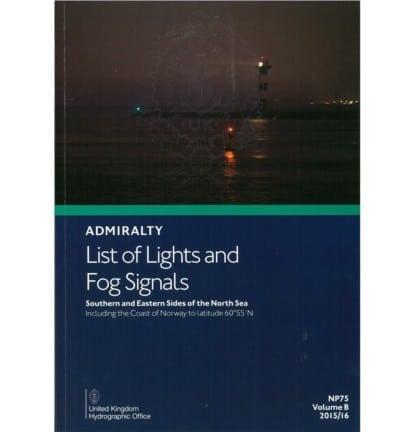 NP75 - List of Lights Vol B 2017/18