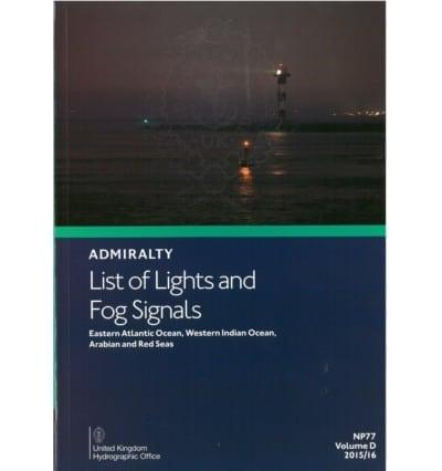 NP77 - List of Lights Vol D. 2018/19