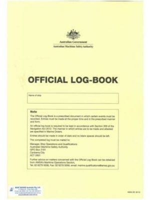 Official Log Book