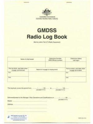 GMDSS Radio Logbook (AMSA)