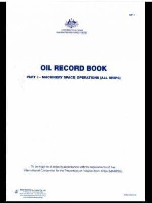 Oil Record Book - Part 1