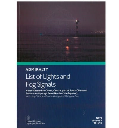 NP79 -  List of Lights Vol F 2017/18