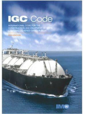 IMO104E - IGC Code, 2016 Edition