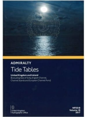 NP201B 18 Tide Tables for the United Kingdom and Ireland  (2018)