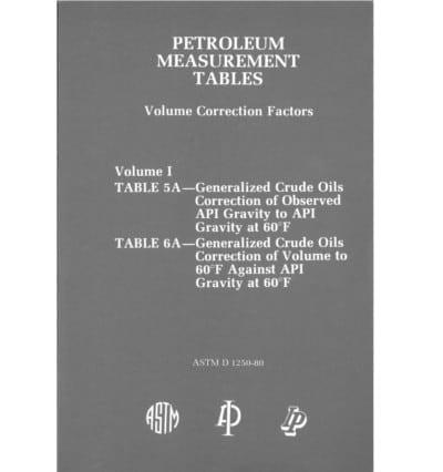 Petroleum Tables Vol 1