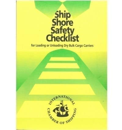 Ship Shore Safety Checklist