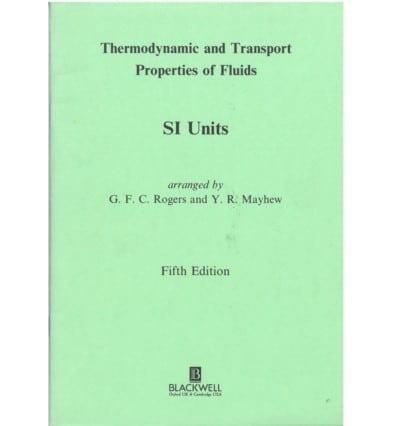 Thermodynamic Properties of Fluids