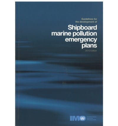 IMO586E Oil Poll Emergency Plans 2001