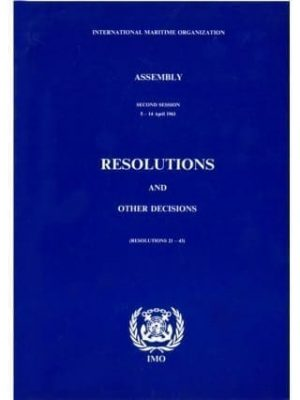 IMO29E Resolutions and other Decisions of the Assembly 28th Sess