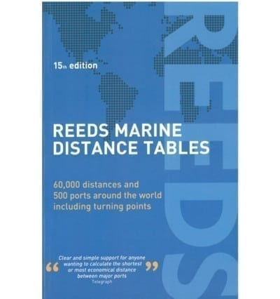 Reeds Distance Tables 15th Ed. 2018